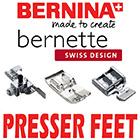 Bernina - Bernette Presser Feet