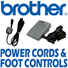 Brother Power Cords & Foot Controls