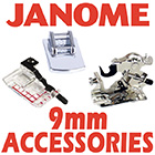 Janome 9mm Accessories