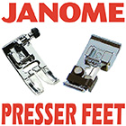 janome presser feet