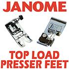 Janome Top Load Presser Feet