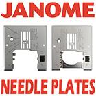 Janome Needle Plates