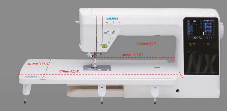 Juki Hzl Nx7 Next Generation Long Arm Sewing And Quilting