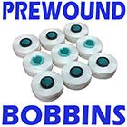 Prewound Bobbins