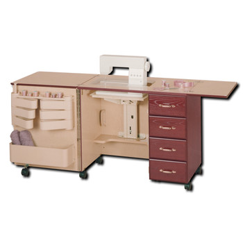 Horn Of America Model 2156 Sewing Cabinet With Drawers In