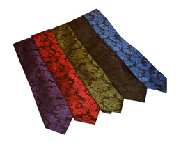 Our colourful brocade ties are as stylish as they are comfortable.  A great addition to our brocade smoking jackets you are sure to be a show stopper.