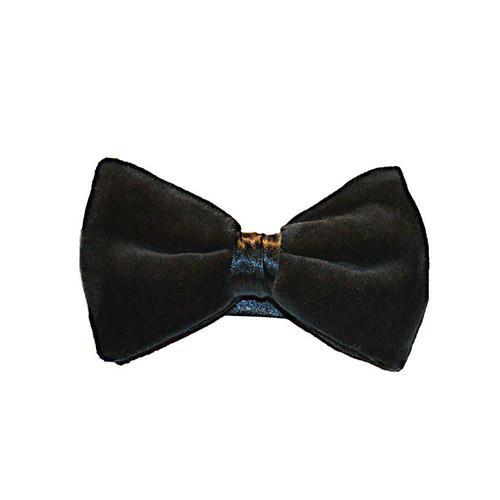 Velvet Bow Tie - Black