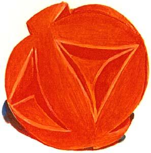 Big Red Clutch Ball