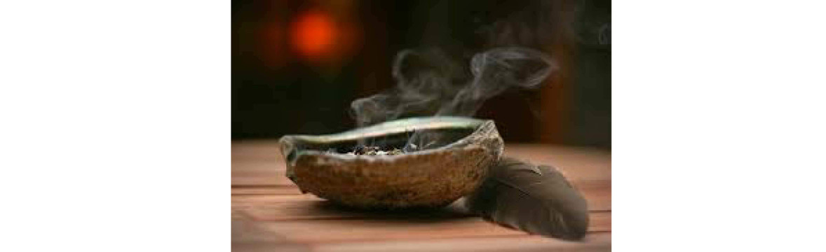 Smudging and supplies