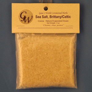 (HO50130) Brittany Celtic Sea Salt coarse 3 oz