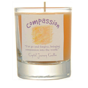 Compassion Glass Filled Votive Candle