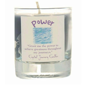 Power Glass Filled Votive Candle