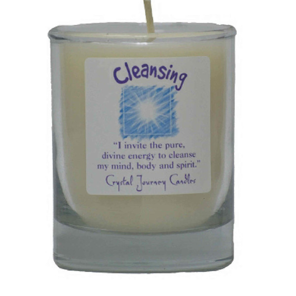 Cleansing Glass Filled Votive Candle