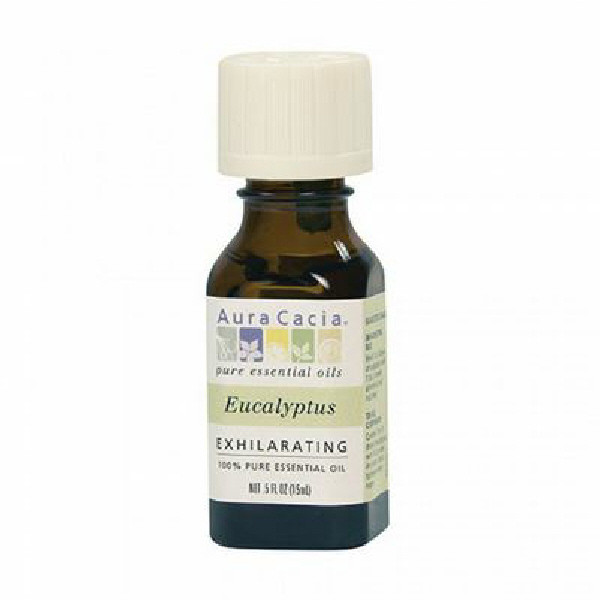 Eucalyptus essential oil, 0.5 oz.