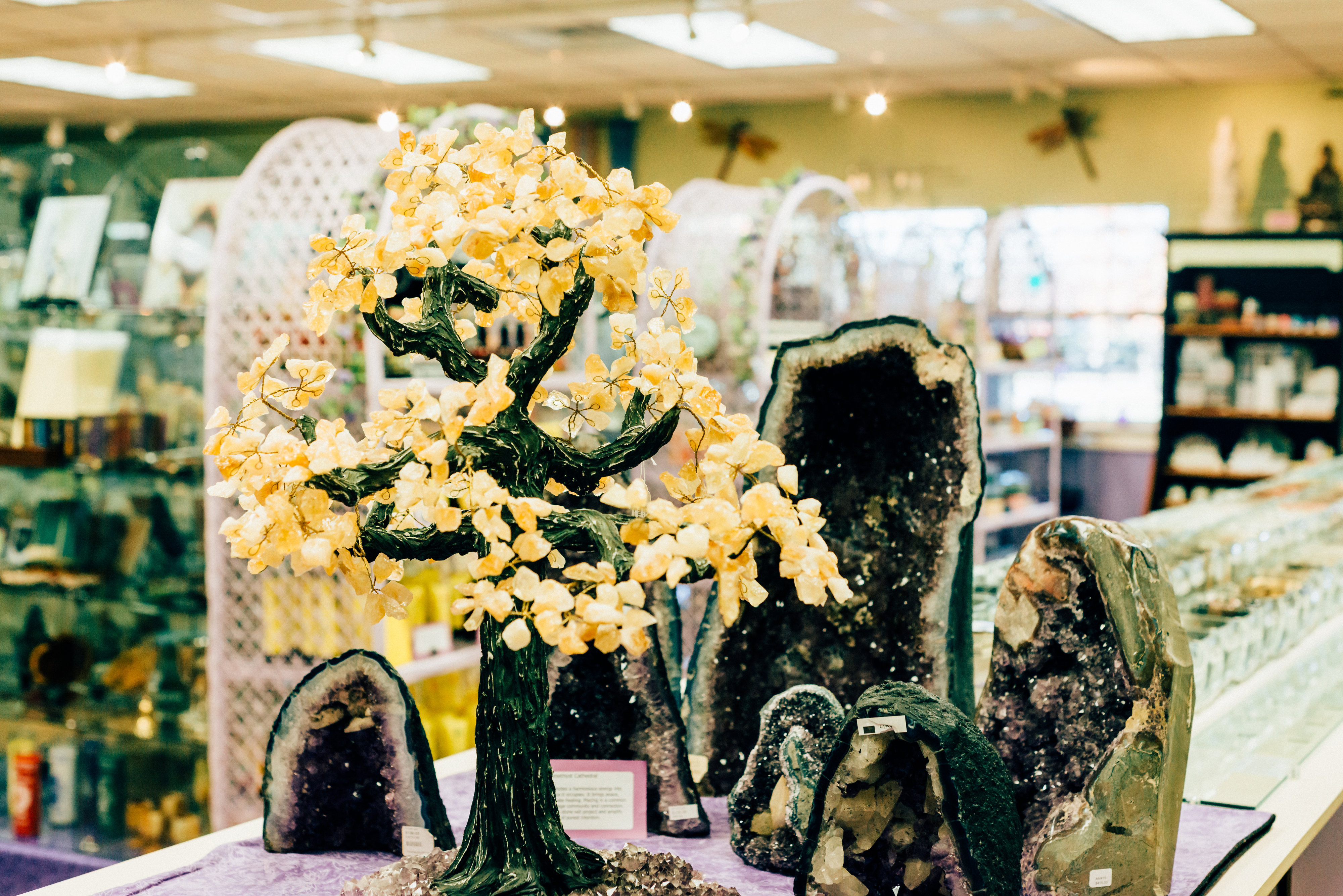 Gemstone Trees and Cathedrals