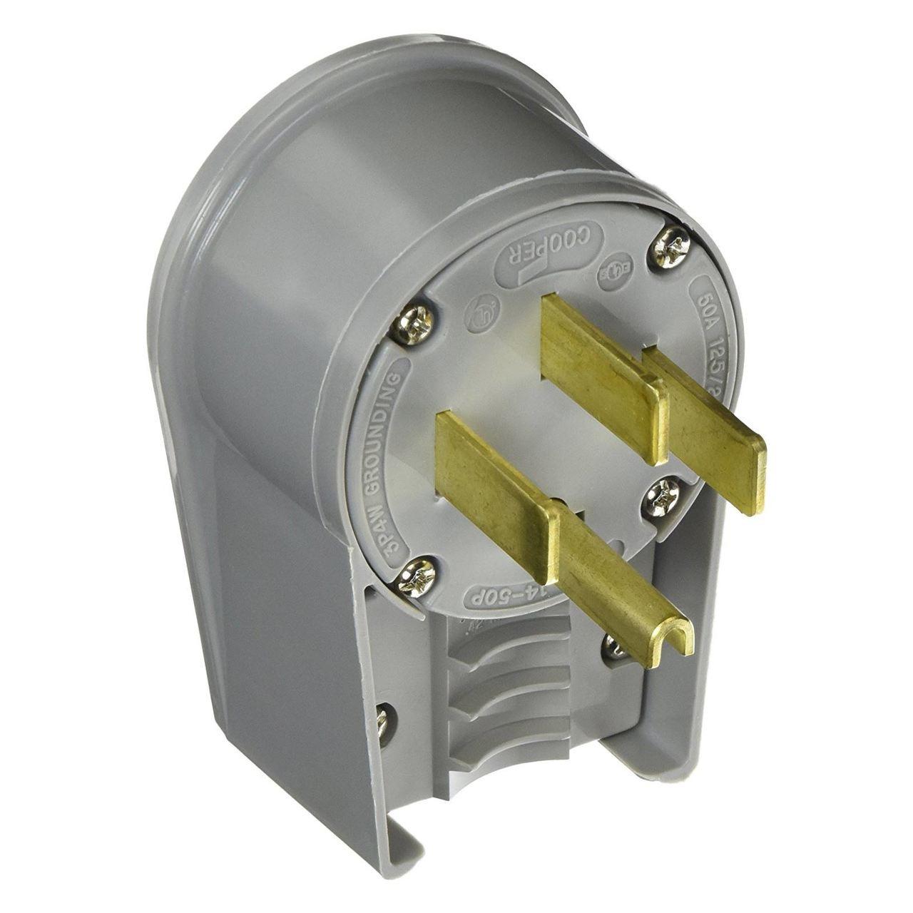 Generac Plug 14-50 Straight Blade 50A 120/240V - TremTech Electrical ...