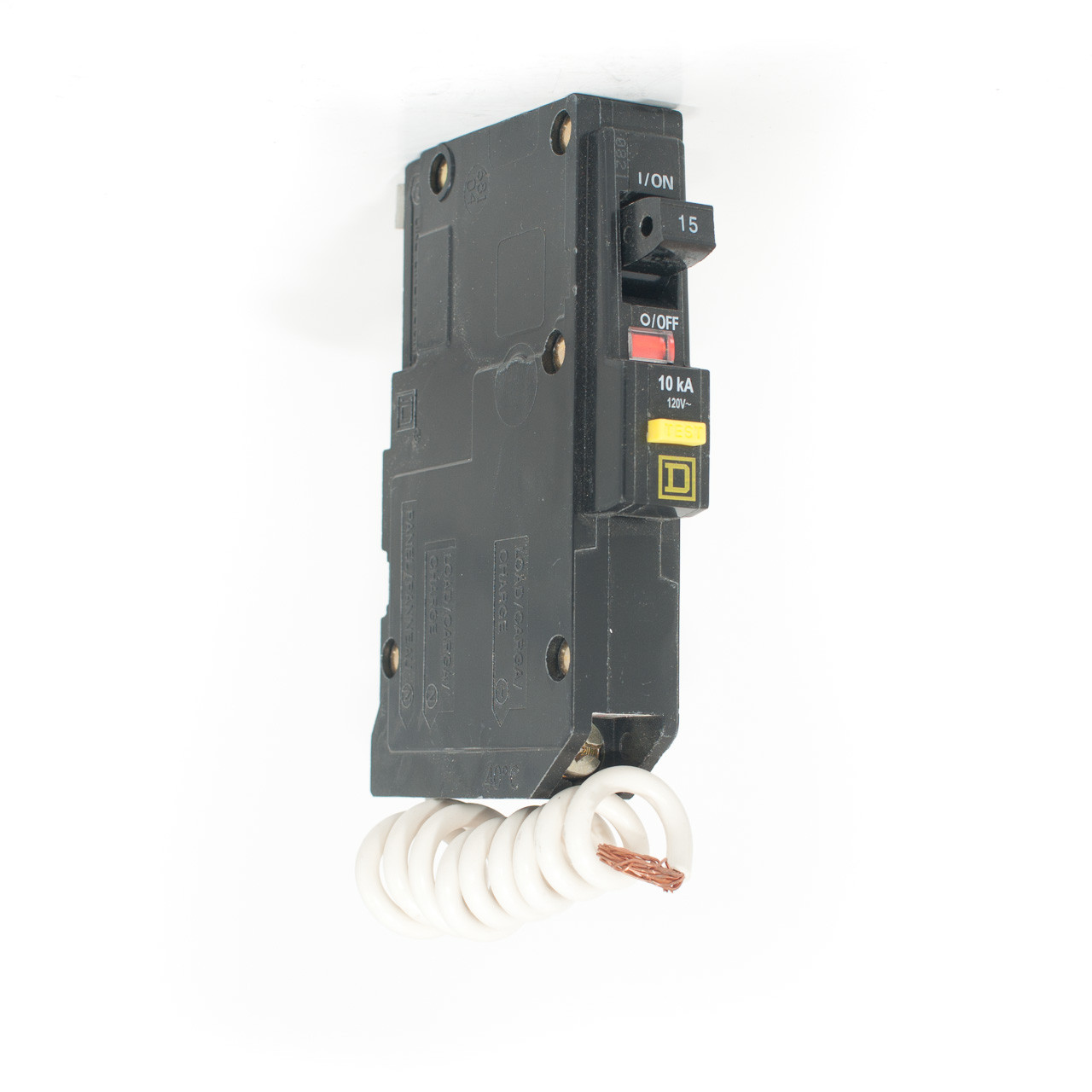 Groundfault Interrupter Gfi Or Gfci Protects Against Short Circut Square D Qo Qwikgard 15 Amp Singlepole Circuit Breaker 15a Single Pole Push On