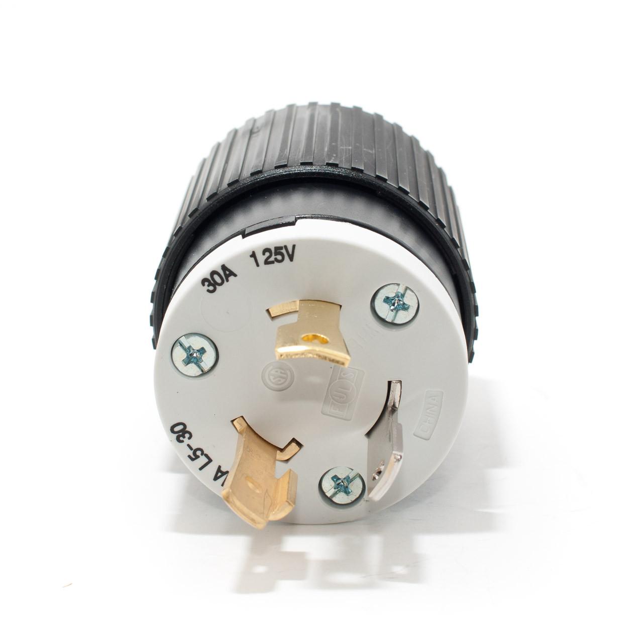 L5 30 2P3W 30A 125V Twist Lock Plug TremTech Electrical
