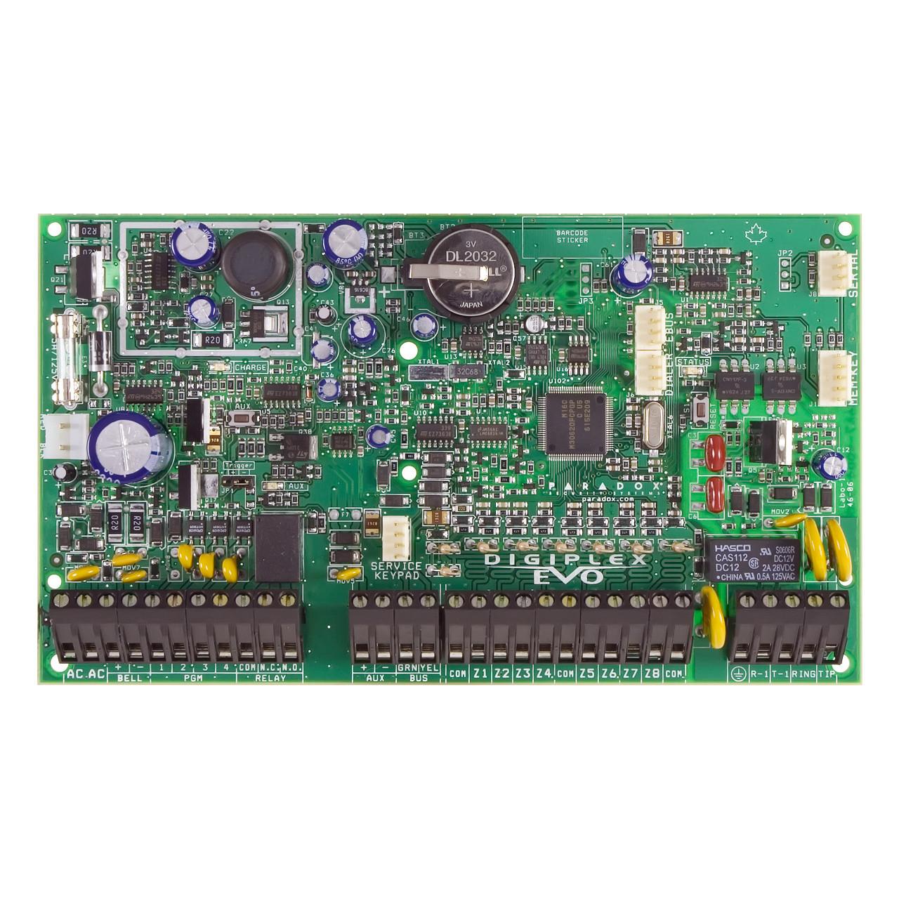 paradox evo192 8 to 192 zone alarm panel tremtech electrical rh store tremtech com paradox mg5050 installation guide paradox mg5050 programming guide