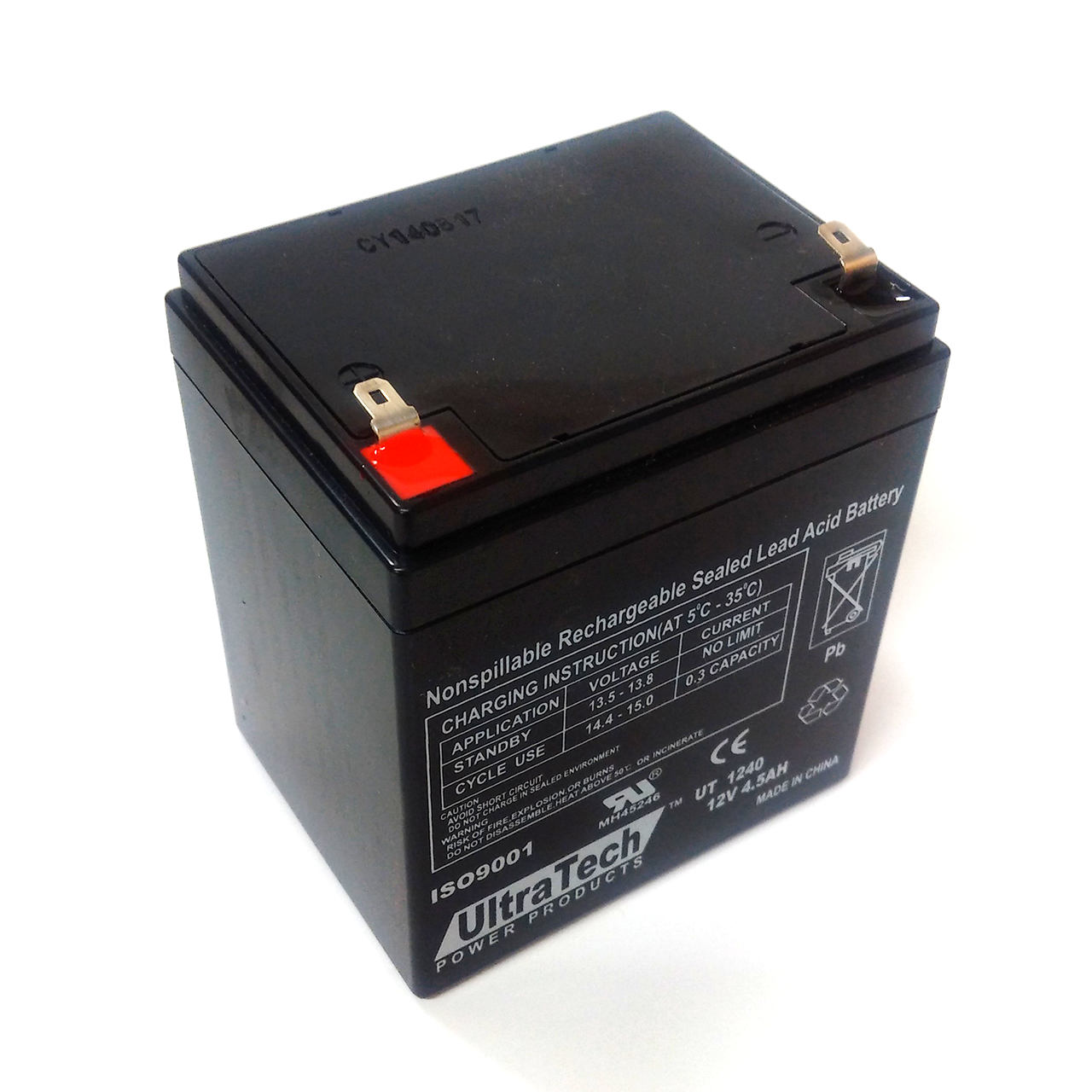 Battery for alarm system 17