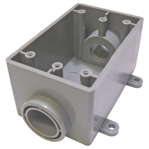 "Royal 3/4"" FSC Single Gang Device Box 15.3 CU. IN."