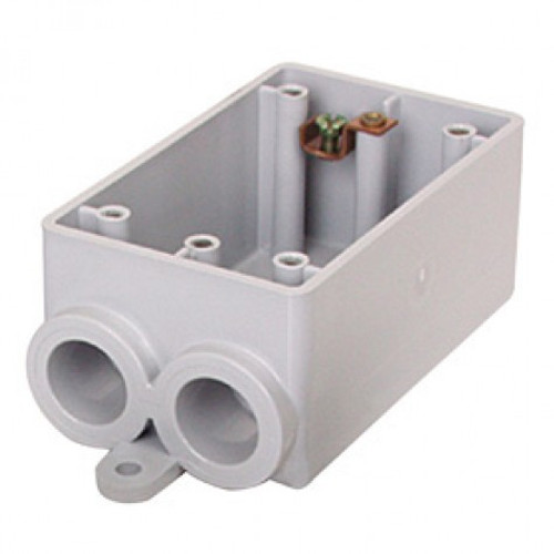 "Royal 1/2"" FSS Single Gang Device Box 17 CU. IN."