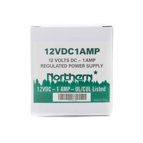 Nothern 12Vdc 1 Amp Plug-In Power Supply