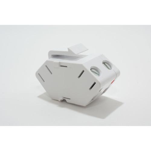 On-Q Single Speaker Outlet Keystone Insert White