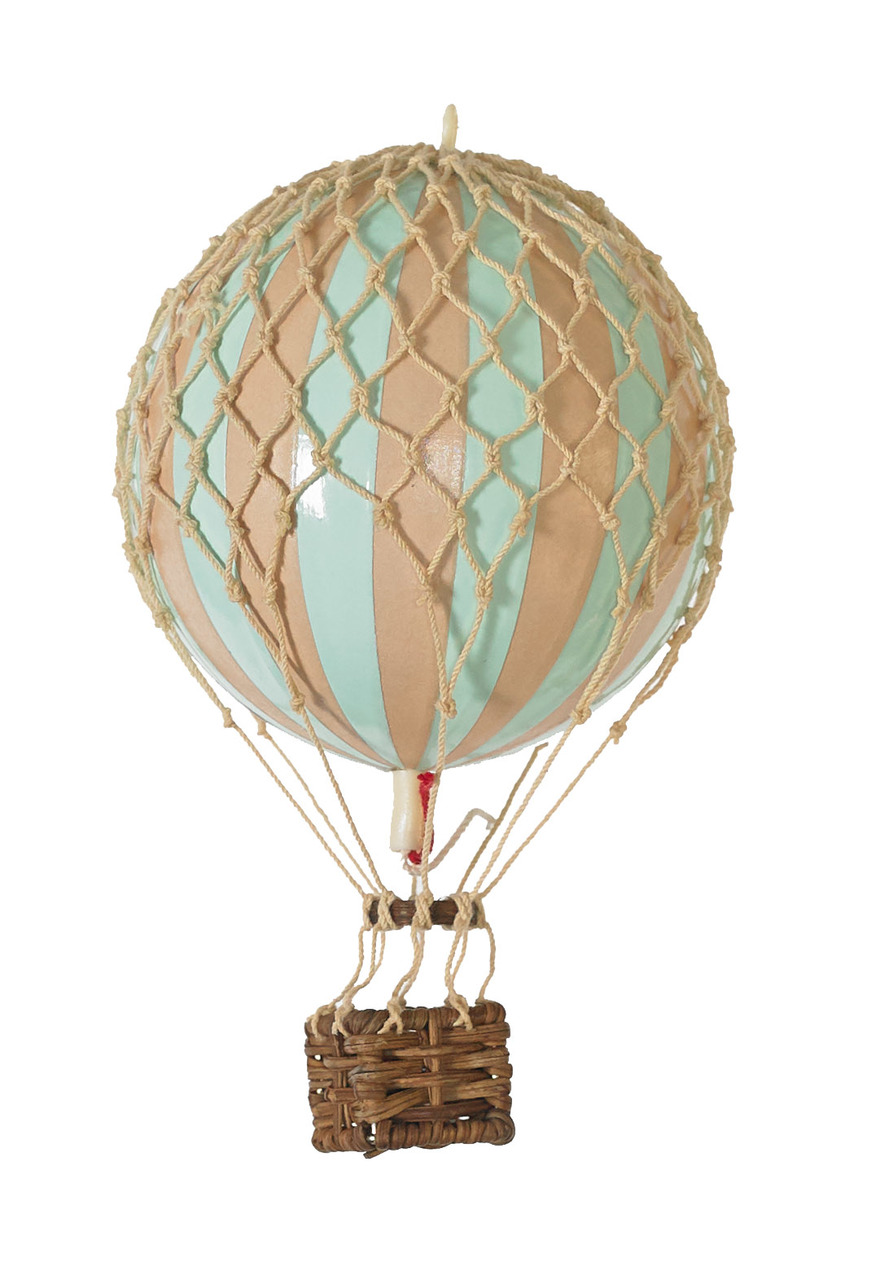 Floating the Skies Hot-Air Balloon Mint