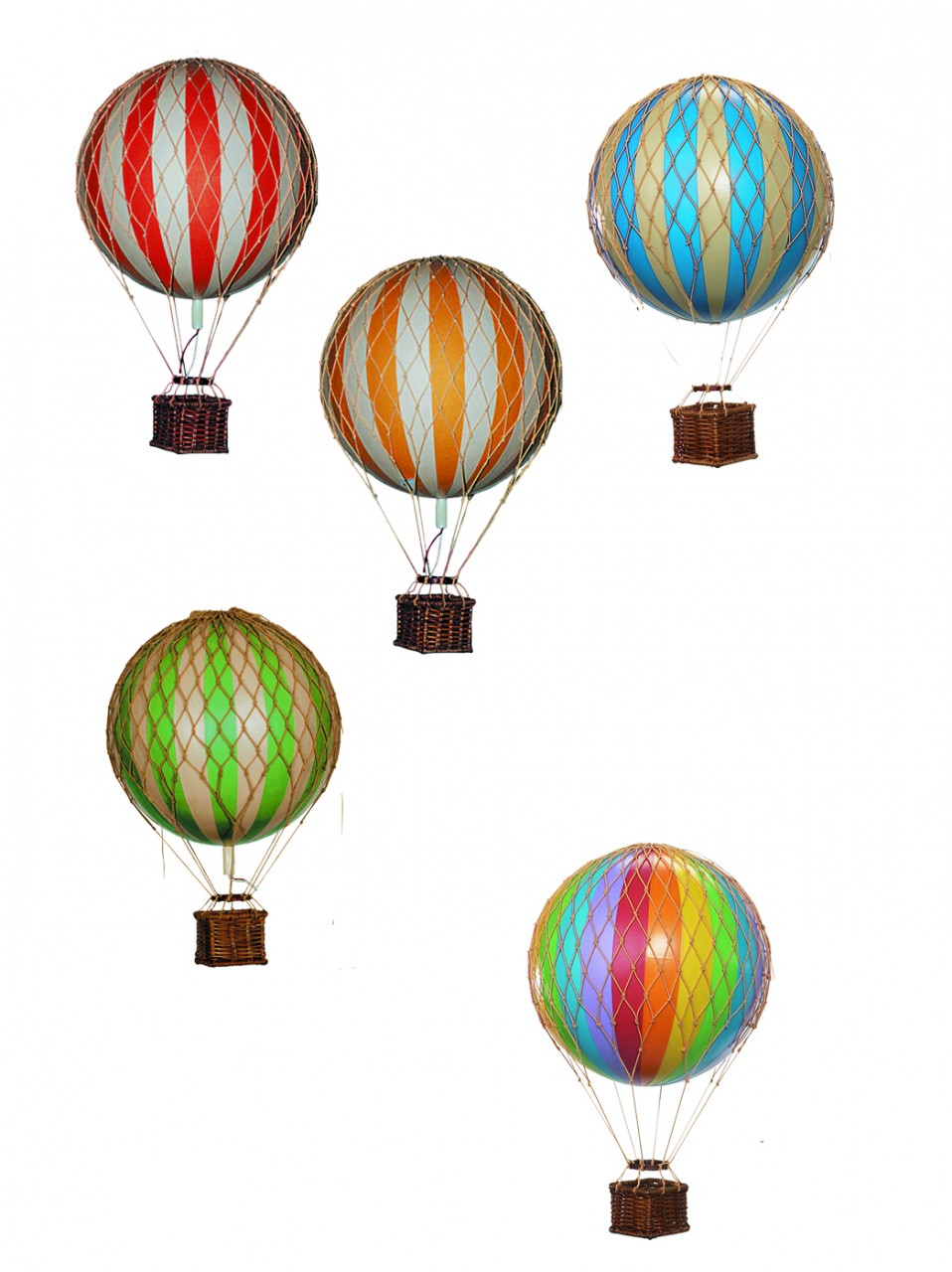 Authentic Models Floating the Skies Hot-Air Balloon