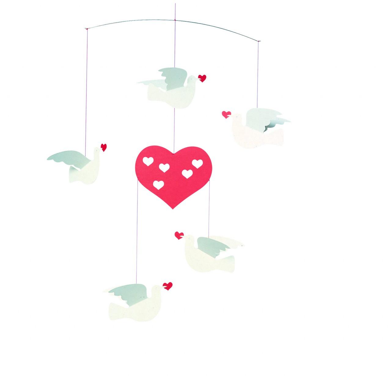 Flensted Peace & Love Mobile