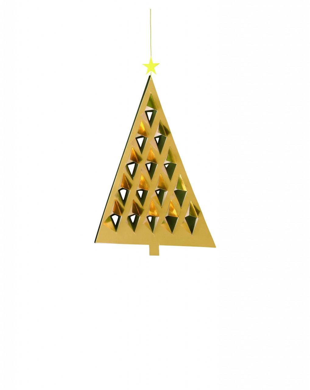 Flensted Prismas Tree in Gold