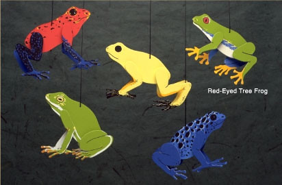 Skyflight Tree Frogs Mobile