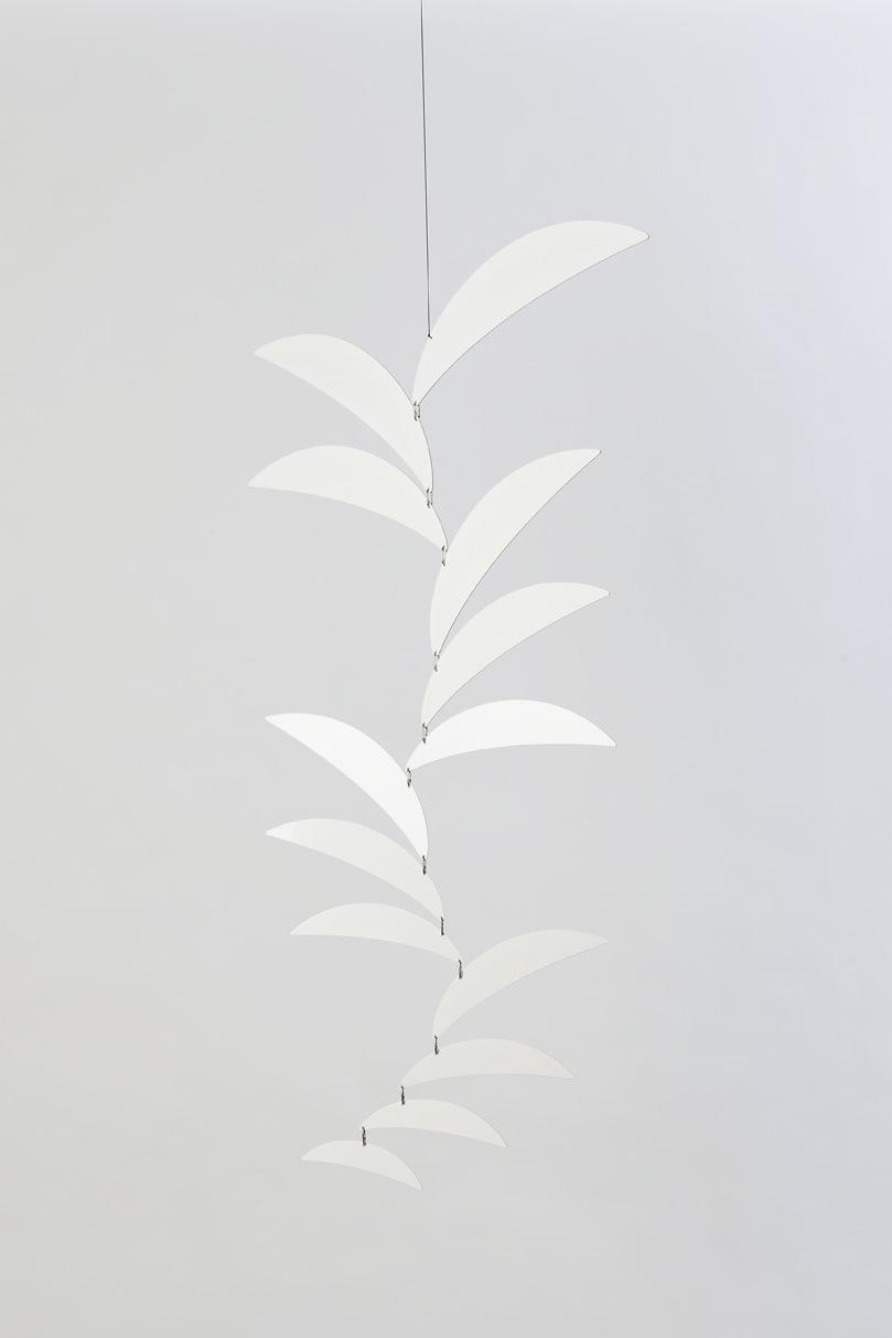 Ekko Workshop Crescent Cascade Mobile, White