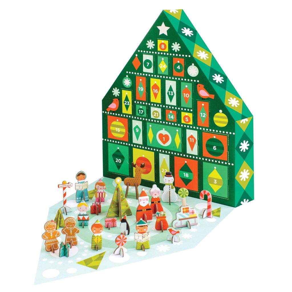 Petit Collage Tree Advent Calendar