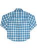 Boys' Check Long Sleeve Shirt - Organic Cotton