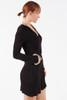 Suzie Fringe Hooded Mini Dress - Modal