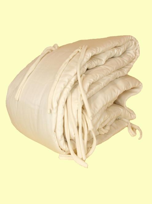Crib Bumper Pad - Organic Cotton & Eco-Wool
