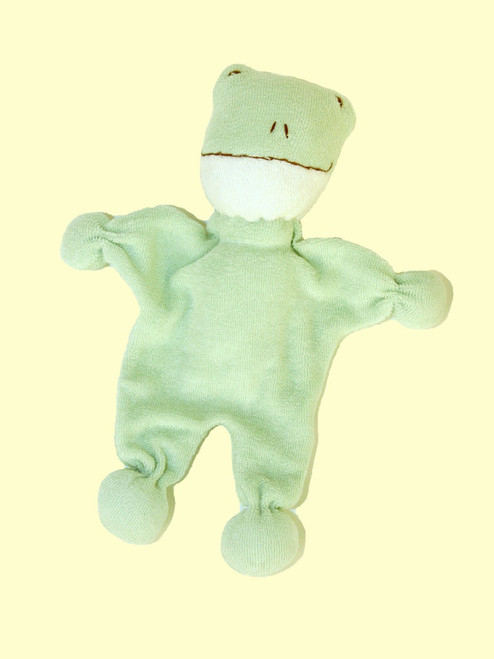 Frog Toy . Certified organic cotton - Fair Trade