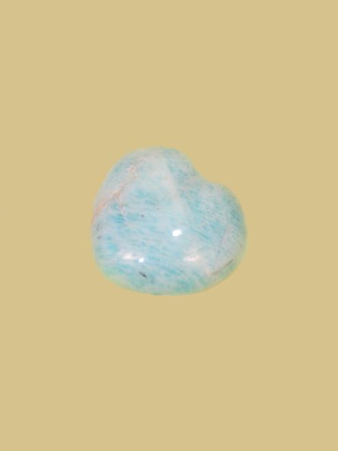 Amazonite Heart