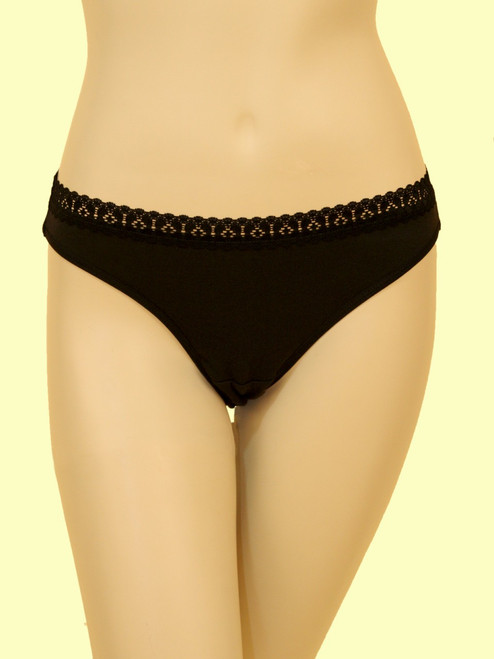 Lace Panty - Organic Cotton