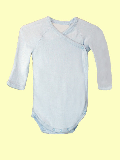 Boy Long Sleeve Babybody - Organic Cotton