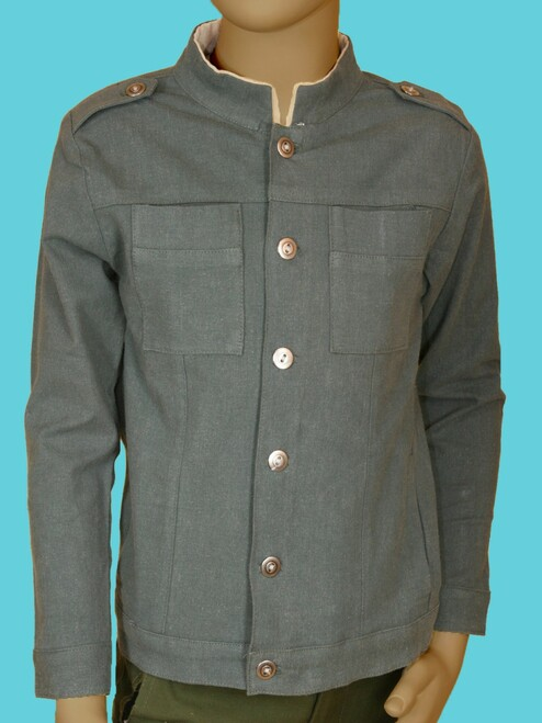Marco Jacket - Hemp and Organic Cotton