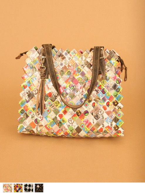 Mary Poppins Bag - Recycled . Fair Trade