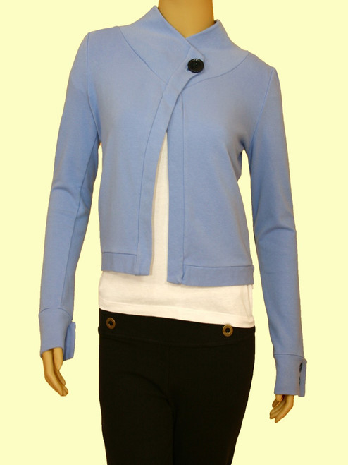 One Button Jacket - 90% Organic Cotton