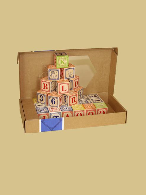 Spanish Alphabet Blocks - Sustainable Wood
