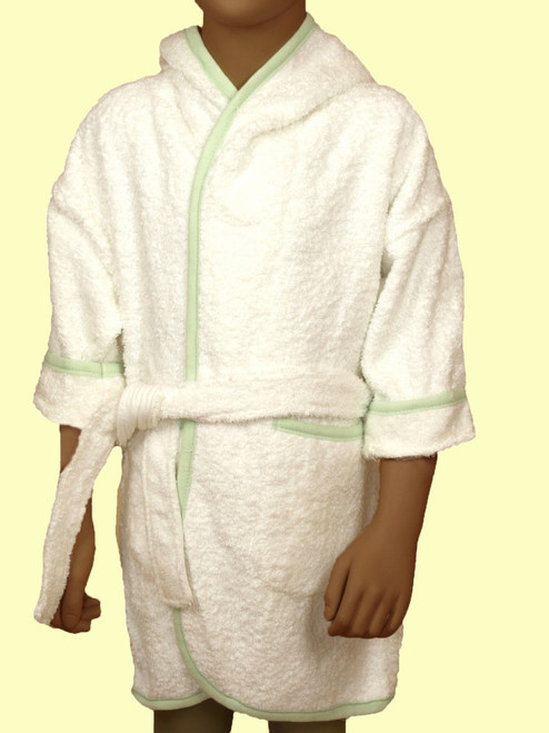 Terry Bath Robe . Organic Cotton - Fair Trade