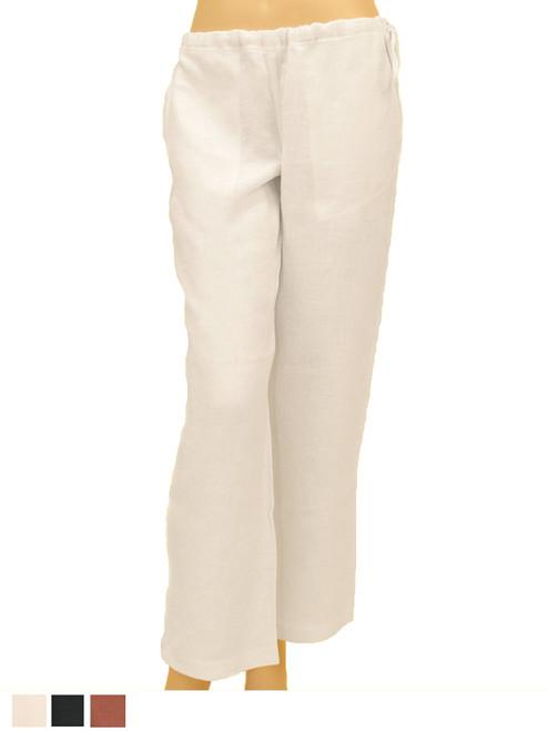 100% Hemp Drawstring Pants Resort Wear