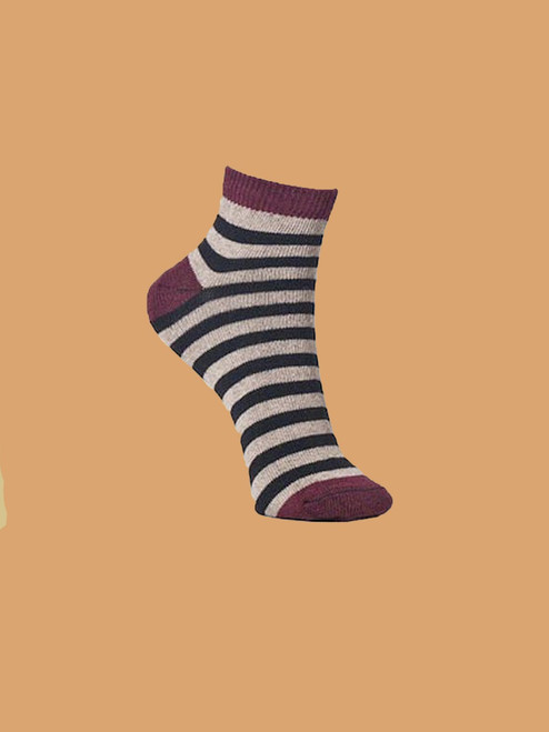 Zeus Ankle Paired Socks - Recycled Cotton
