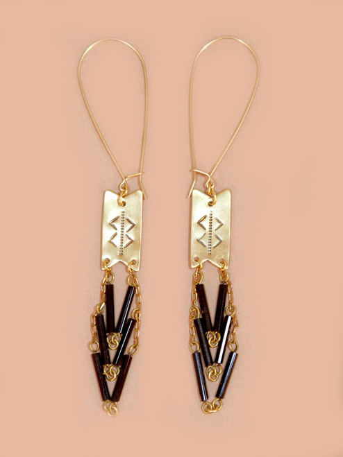 Of The Woods Earrings - Recycled Materials